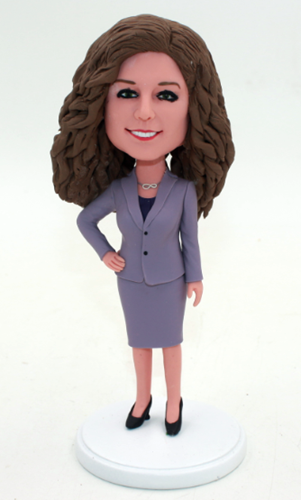 Custom Office lady bubble heads
