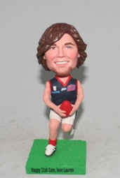Custom American football / Rugby bobbleheads