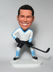 Custom Custom Hockey bobblehead