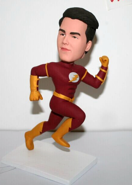 Custom Custom Flash bobbleheads