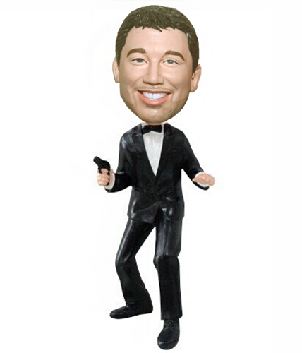 Custom James Bond bobbleheads