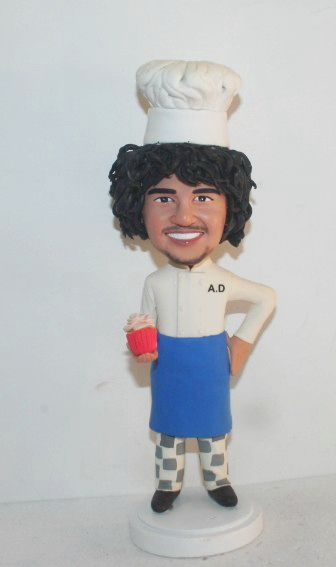 Custom Personalized baker bobbleheads