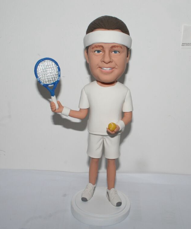 Custom Personalized tennis bobbleheads
