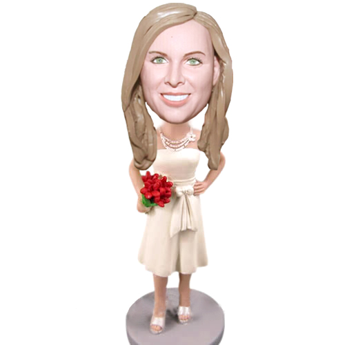 Custom Bridesmaid bobblehead 48