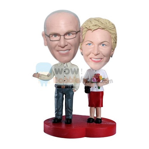Custom Couple custom bobblehead