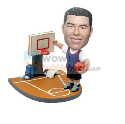 Custom Male basketball player bobblehead