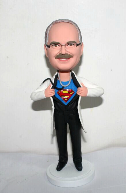 Custom Super Doctor bobblehead