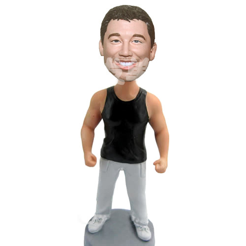 Custom Muscle Man bobblehead