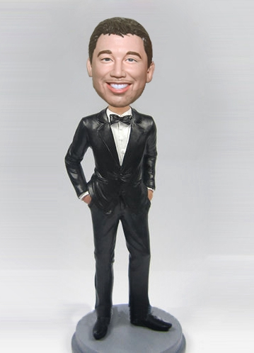 Custom Gentleman bobblehead