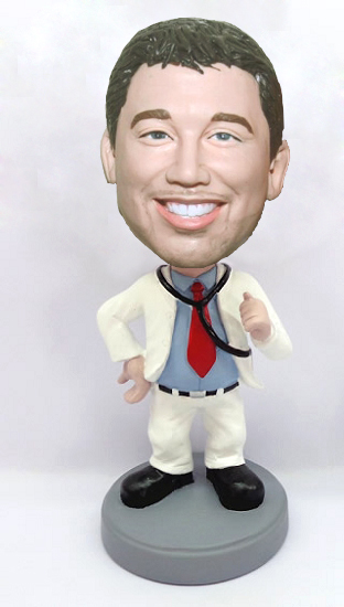 Custom Fun Doctor bobblehead