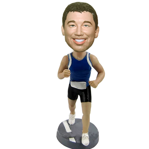 Custom Personalized runner bobblehead
