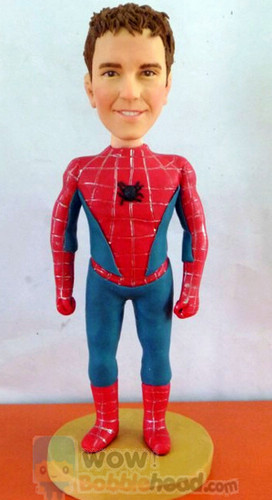 Custom Custom Spiderman bobblehead