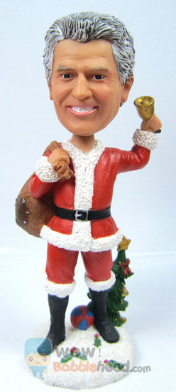 Custom your own Santa bobblehead