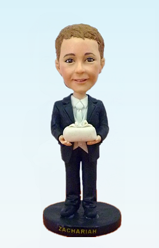 Custom Ring bearer bobbleheads