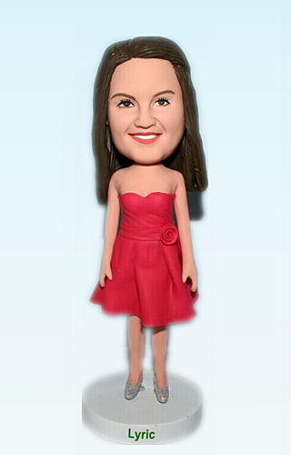 Custom Bridesmaid bobblehead 2606