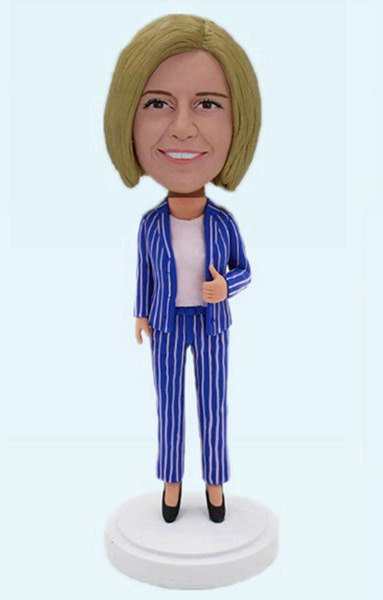 Custom Custom Bobblehead Office Lady