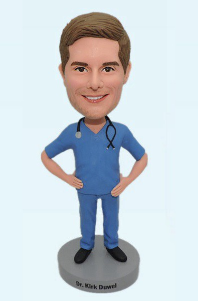 Custom Personalized Bobbleheads For Doctor