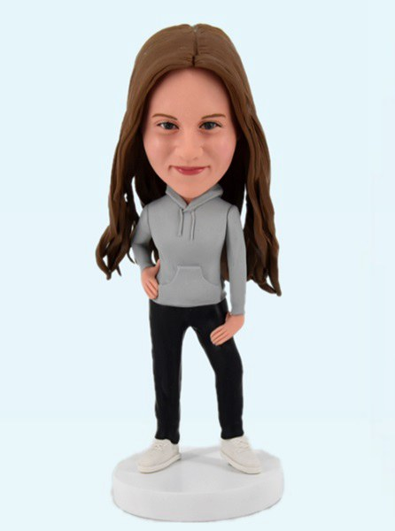 Custom Custom Bobblehead Fashion Girl