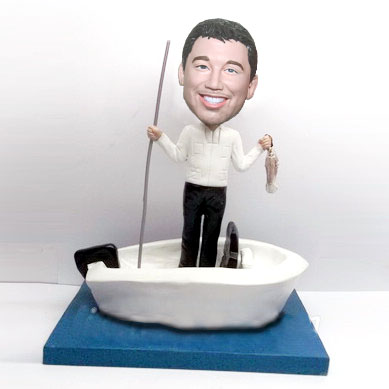 Custom Personalized Bobbleheads Fishing