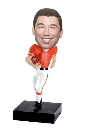 Custom Football Personalized bobbleheads