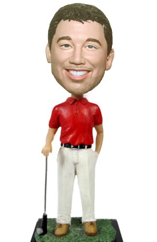 Custom Golf bobbleheads Canada