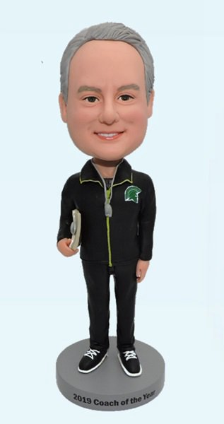 Custom Personalized Bobbleheads For Coach
