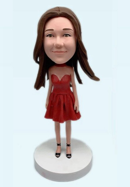 Custom Custom Bobbleheads Fashion Girl