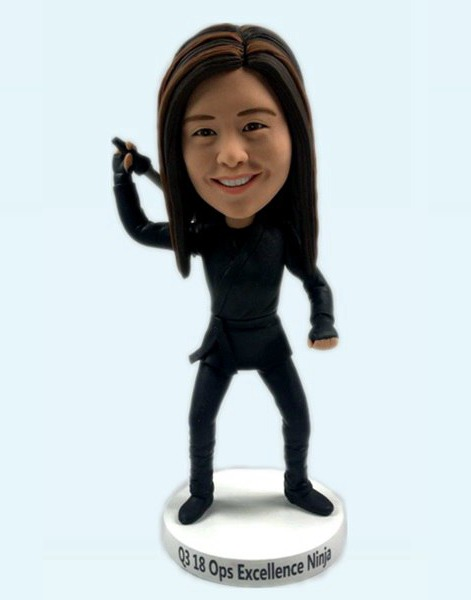 Custom Custom Female Ninja Bobbleheads