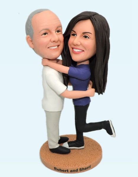 Custom Custom Anniversary Bobblehead For Your Parents