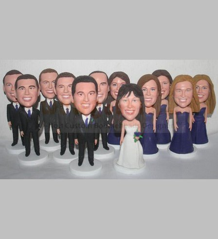 Custom Groomsman / Bridesmaid Bridal Party Easy Order