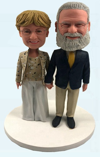 Custom Custom Wedding Anniversary Bobbleheads