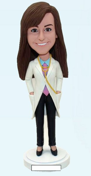 Custom Custom female doctor bobblehead
