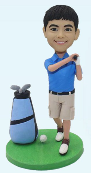 Custom Create Golf Player Bobblehead