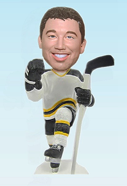 Custom Ice Hockey player bobblehead