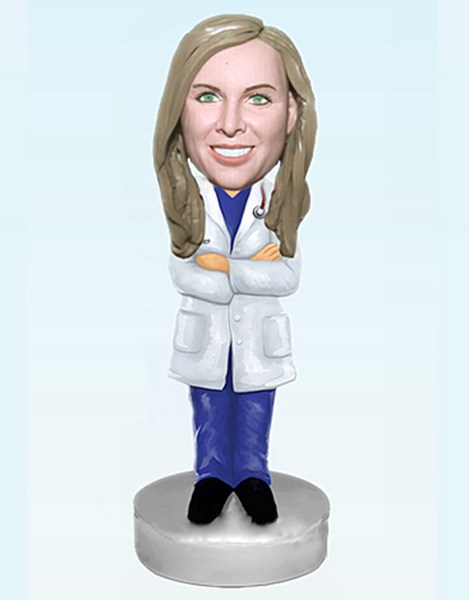 Custom Hospital Personalized Doctor bobblehead