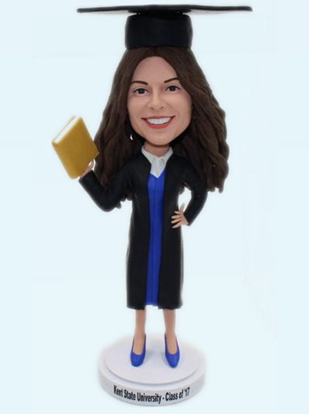 Custom Personalized bobbleheads for graduation gift