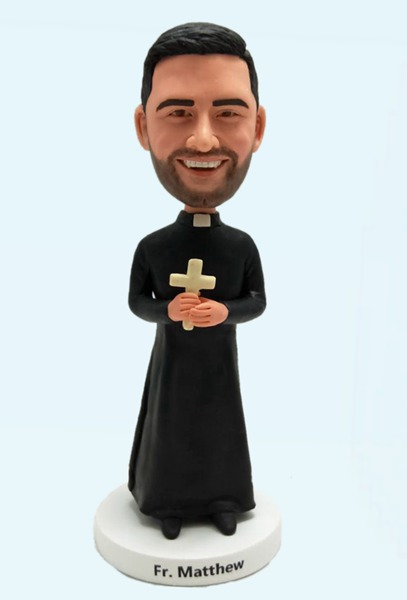 Custom Best Gifts For Priest bobbleheads