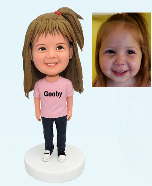 Custom Custom Bobblehead For Cute Girl
