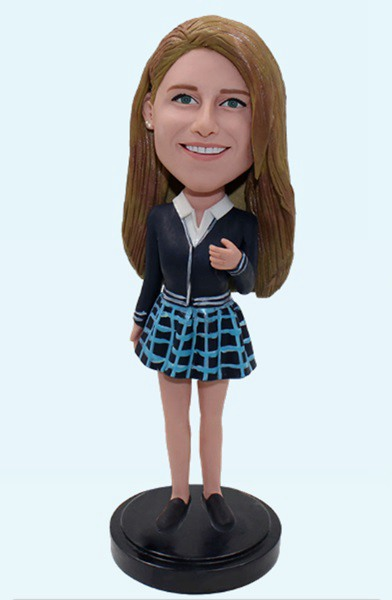 Custom Custom Bobblehead For Girl