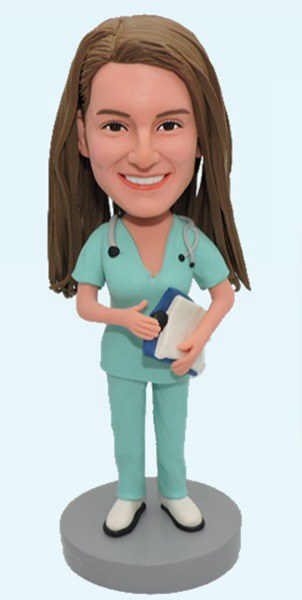 Custom Hospital Personalized Nurse bobbleheads