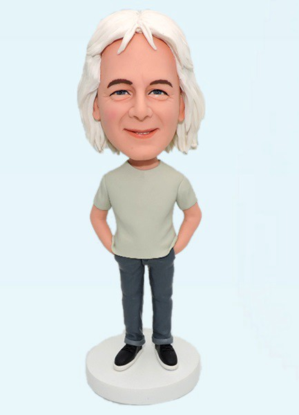 Custom Custom Casual Male Bobblehead