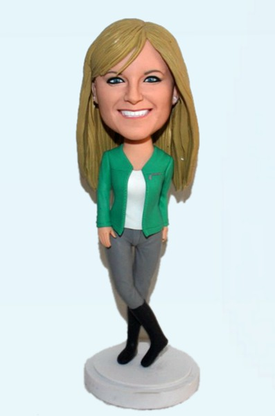 Custom Custom Bobblehead For Fashion Lady