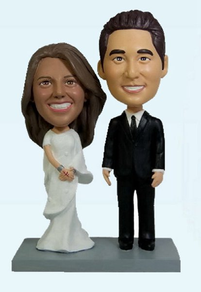 Custom Wedding gift bobble head