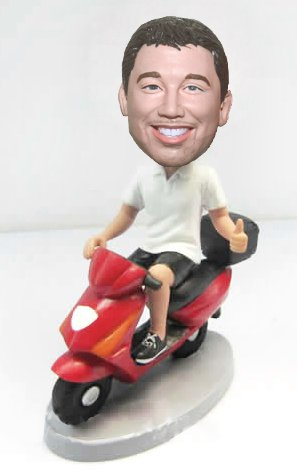 Custom Motorcycle Personalized Bobbleheads