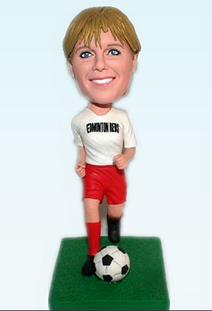 Custom Personalized footbal player bobbleheads