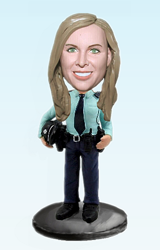 Custom Personalized police bobblehead