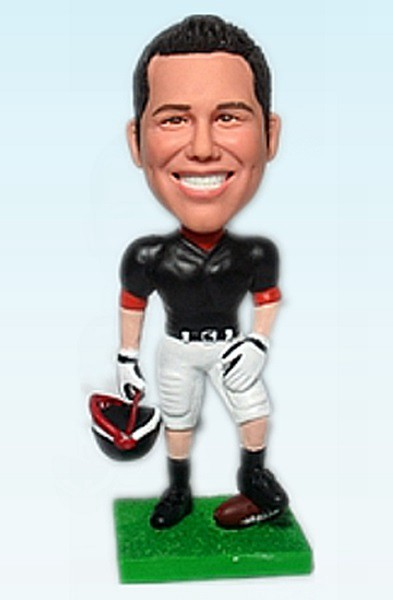 Custom American football player Bobblehead
