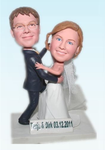 Custom Dancing wedding bobblehead