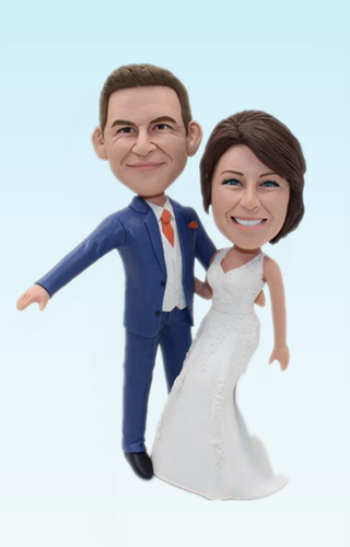 Custom Personalized dance wedding bobbleheads