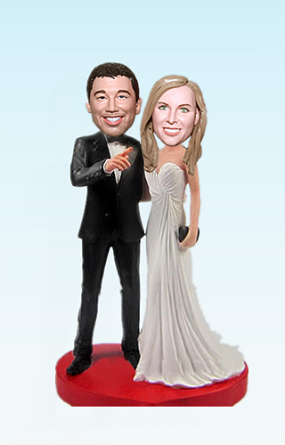 Custom Wedding bobbleheads BW81